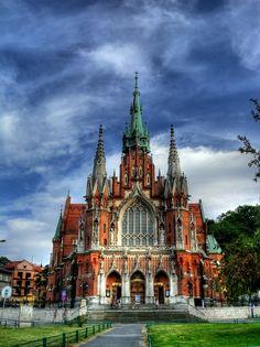 galeriakrakow:    gallerycracow:    St. Joseph church, Krakow    by Thomas N.