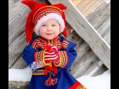 A little Lappish prince wearing Sámi-style clothes. Photo by: mondo_mio
