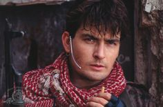 Navy Seals - Publicity still of Charlie Sheen. The image measures 3645 * 2400 pixels and was added on 31 July Two And Half Men, Half Man, Two Men, Charlie Sheen Young, Sheen Family, Young Guns, 80s Movies, Stanley Kubrick, Navy Seals