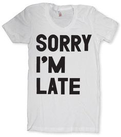 'my bad' or 'I'm sorry' ? | Print Liberation Store