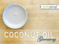 They are having a coconut oil giveaway! (Contest ends April 15, 2012 at 11:59pm PST)