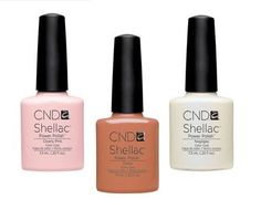 Neutral nails are simple, subtle and oh-so-chic! Try CND Shellac™ in Clearly Pink, Cocoa or Negligee  for a perfectly polished and professional look.  Craving more nudes?  Visit our Web site to see how you can create your own with our instructional layering sheet:  http://www.cnd.com/pdf/Shellac%20Layering/ShellacLayeringSheet-1.pdf