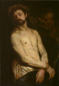 Man of Sorrows - Ecce Homo (1622-5) by Anthony Van Dyck        Anthony van Dyck