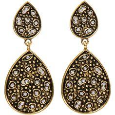 Amrita Singh Bukra Earrings ($75) ❤ liked on Polyvore