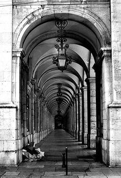 Lisbon - Baixa district (downtown)