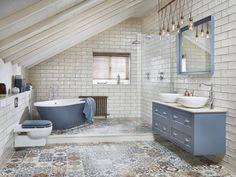 78 Light Blue Bathroom Color Decorating Ideas Bluе: a сlаѕѕіс bаthrооm соlоr, reminiscent of thе ѕkу and wаtеr. bluе аlѕо іnѕріrеѕ confidence and . Bathroom Furniture, Bathroom Interior Design, Light Blue Bathroom, Home, Bathroom Showrooms, Amazing Bathrooms, Bathrooms Remodel, Bathroom Decor, Tile Bathroom