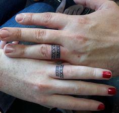 Tatuagens para casais.