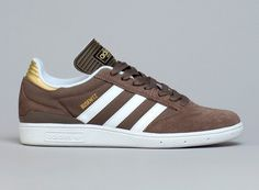 Adidas Busenitz- Cargo Brown and Metallic Gold