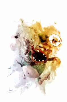 ben templesmith wormwood - Google Search