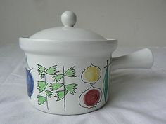 Rorstrand Sweden pan with lid Picknick Marianne Westman modern 1950's no 10