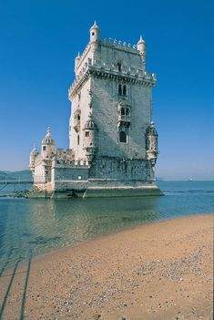 Portugal - Lisboa, Torre de Belém Photo by António Sacchetti.  Used in Bond film The World Is Not Enough.