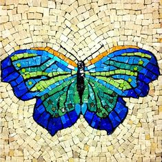Butterfly Mosaic Art Julie Richey  Repined By    http://www.mosaicmosaic.com/