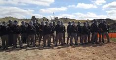 """Breaking: Riot Police Begin Mass-Arrests at Dakota Access Pipeline, FB Censors Video   AntiMedia   """"It didn't take long after the National Guard was activated in North Dakota for militarized law enforcement to descend upon the site of the Dakota Access Pipeline. Today, mass arrests began as riot gear-clad police attempted to break up Native American opposition to the construction of the pipeline, which has been halted at one location but continues elsewhere."""" This needs to go viral - share!"""