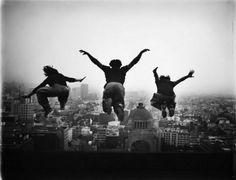 Fotos que capturan la belleza del freerunning
