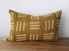 Your place to buy and sell all things handmade Pillow Inserts, Pillow Covers, Guest Room Office, West Africa, Im Not Perfect, Throw Pillows, This Or That Questions, Mustard, Fabric
