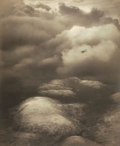 Uplands. Snowstorm Passing by  Alfred G. Buckham