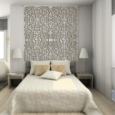 Divider, Modern Interior. 3D Render: amazing decorative screens panels