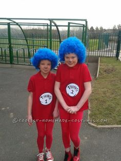Last-Minute Thing 1 and Thing 2 Costumes for UK World Book Day ... This website is the Pinterest of costumes