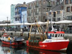 Boats on Plymouth Barbican