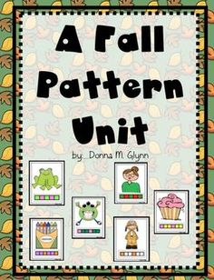 This pack is filled with patterning for the Fall season.  There are three types of activities.Patterns included are:  ABAB, ABC, AAB and ABB.  ...