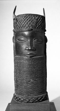 Benin Oba Head. Edo Peoples - Benin, Nigeria. 20th Century
