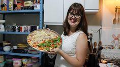 Que tal aprender a fazer uma deliciosa e crocante massa de pizza sem glúten?