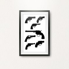A3 Size, Types Of Printing, Revolvers, Paper Size, Picture Wall, Weapon, A4, Digital Prints, Poster Prints