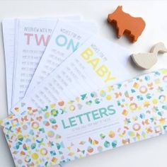 Baby shower gift ideas have never been cooler. This gorgeous Letter to Your Child stationery pack is perfect for writing keepsake letters to your kids from birth to age 12.