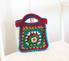 Girls handbag pattern Girls purse Girls bag by DeborahGraceDesigns