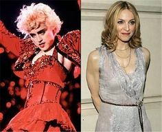 Celebrities Then And Now Madonna