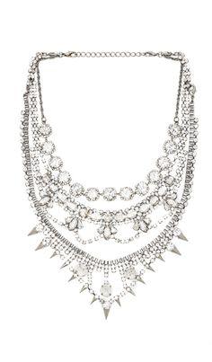 Xevana Dialouvtra Necklace in Crystal