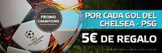 el forero jrvm y todos los bonos de deportes: suertia bono 50 euros Chelsea vs PSG champions 11 ...