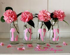 Pink Love Vases :: Hometalk http://www.hometalk.com/7096608/pink-love-vases?se=fol_new-20150214&utm_medium=email&utm_source=fol_new&date=20150214&tk=b3h3ym