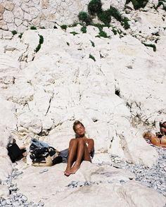 """ellehena: """"Matilda Djerf // Nice, France Curated by The Beach, Beach Bum, Sand Beach, Summer Dream, Summer Of Love, Men Summer, Style Summer, Summer Beach, Summer Feeling"""