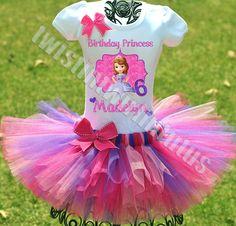 Princess Sofia Birthday Outfit