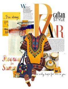"""Cool Caftan Style"" by lacas ❤ liked on Polyvore"
