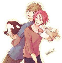 Makoto and Rin