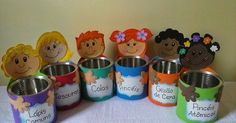 Tin Can Crafts, Diy And Crafts, Crafts For Kids, Daycare Rooms, Montessori Activities, School Decorations, Kids Church, Head Start, Craft Work