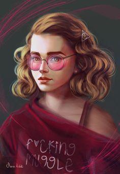 Harry Potter Imagines, Harry Potter Fan Art, Harry Potter Characters, Harry Potter Memes, Hermione Granger Fan Art, Draco Malfoy, Normal Girl, Harry Potter Gifts, Fangirl