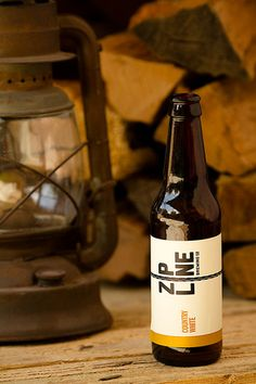 Zipline Country White. Zipline Brewing, Lincoln Nebraska, Local Brewery, Country White, Beer Bottle, Beer Photography