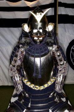Nanban-dou armor for Kenshin Uesugi Samurai Helmet, Samurai Armor, Japanese Warrior, Japanese History, Special Ops, Frozen In Time, Medieval Armor, Body Armor, Katana