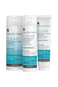 Paula's Choice Clear Skincare Line- Amazing for #Acne prone skin