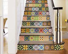 Decorative Tile stickers set of 24 Peel & Stick – mialma