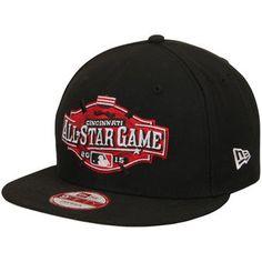 db1d0704d71 Men s New Era Black 2015 MLB All-Star Game 9FIFTY Snapback Adjustable Hat  Fan Gear