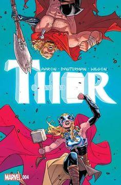 Thor No. 4 Cover, Featuring: Thor (female), Thor Marvel Comics Poster - 30 x 46 cm Marvel Comics, Marvel Comic Books, Comic Book Characters, Marvel Heroes, Marvel Characters, Comic Character, Comic Books Art, Cosmic Comics, Comic Art