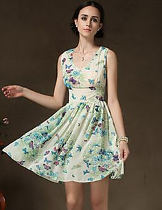 BLINX Women's Vintage/Sexy/Beach/Party/Work Sleeveless Dresses (Chiffon). Get awesome discounts up to 80% Off at Light in the Box using Coupon and Promo Codes.