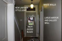 Online Interior Design- Hallway Updates