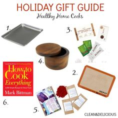 Gift guide for healthy home cooks