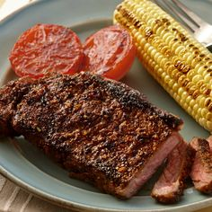 A bold spice mixture using Grill Mates® Steak Rub gives these steaks restaurant-quality flavor.