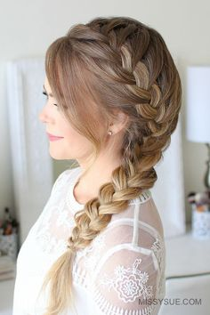 Here is a fun back-to-school hairstyle that is not only easy, but super cute. The side french braid is something of an old favorite of mine. Even though I have a super old tutorial for this style I thought it was time for an updated…
